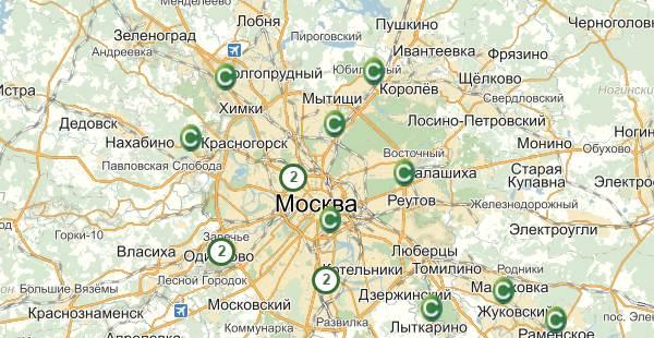 Адреса Сетелем банка в Москве