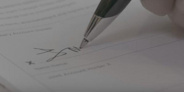 изысканная подпись