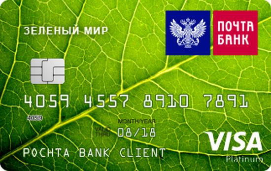 Фото кредитной карты