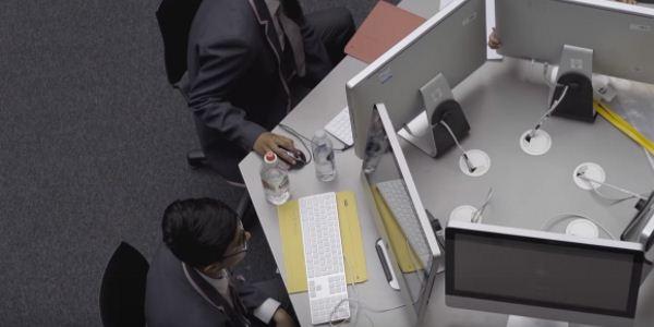 необычный дизайн офиса