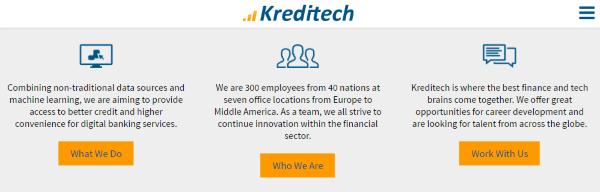 скан официального сайта Кредитех