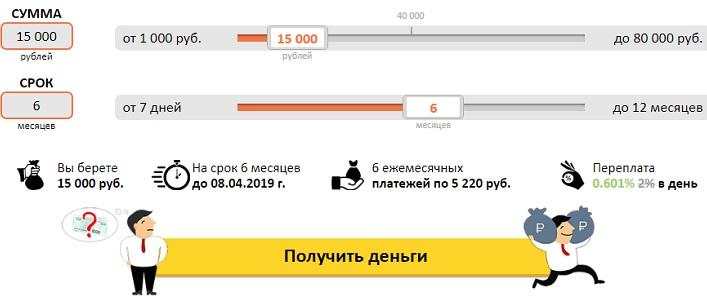 viva деньги займ на карту онлайн